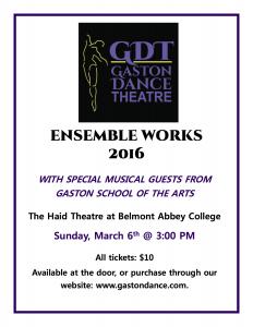 Gaston Dance Ensemble 2016